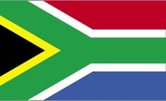 Flag of South Africa on a plastic stick, 4 inches by 6 inches. South African Flag, South African Recipes, Africa Mission Trip, Mission Trips, Country Information, Content Management System, Steinmetz, Visit South Africa, Website Design