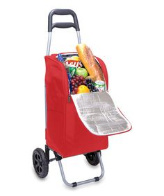 Another great find on #zulily! Red Cart Cooler by Picnic Time #zulilyfinds