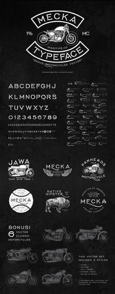 Mecka Typeface on Behance