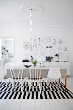 poster-decor-scandinavian-home- blackwhite living