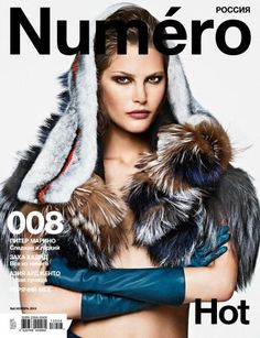 Numéro Russia #8 November 2013  Highlight Description Catherine McNeil by Sebastian Kim for Numéro Russia # 8 November 2013