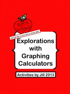 Kids get excited about graphing calculators!  Even if you have never taught a lesson with graphing calculators, you can handle this one!  This activity is an exploratory overview of graphing. It is designed for use with students who have no prior experience using graphing calculators (TI-84 Plus) , but is not limited to a class of that type.