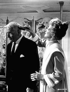 "Katharine Hepburn and Spencer Tracy in ""Guess Who's Coming To Dinner"""