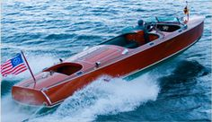 """John Hacker's words for his runabouts ...""""crafts supreme in their boating completeness""""-- aptly describe """"The Steinway of Runabouts"""" since the 1930s."""