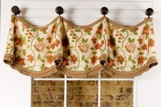 Claudine Valance Pattern by Pate Meadows Sew Easy Valance Window Treatments, Kitchen Window Treatments, Window Coverings, Valance Curtains, Window Valances, Valance Patterns, Sewing Patterns, Types Of Curtains, Curtain Types