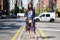 Breaking news: there are more ways to wear a robe than you may have previously considered?