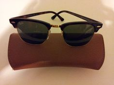 sunglasses by Rayband. $150.00