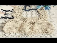 Passo a Passo -Top Cropped Com Gola de Crochê - YouTube