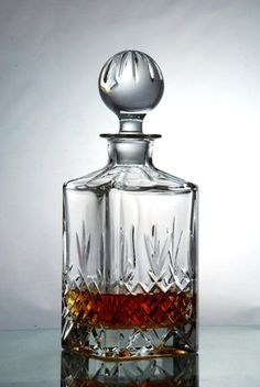Buckingham Crystal Whisky Decanter Set: Amazon.co.uk: Kitchen & Home