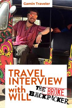 A full time traveler around the world!  Will Hatton will tell us how to backpacking around the world. Interview with Will Hatton from the Broke Backpacker via @gamintraveler: