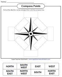Compass Points - Cut & Glue