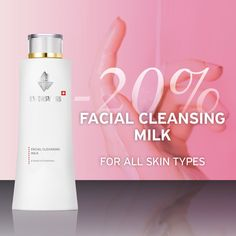 Your first step to extraordinary pores and skin! 💖 The best first step to a flawl. Cleansing Milk, Facial Cleansing, Benefits Of Vitamin A, Face Care, Skin Care, Cleanser And Toner, Flawless Skin, Jojoba Oil, First Step