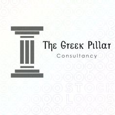 The Greek Pillar logo