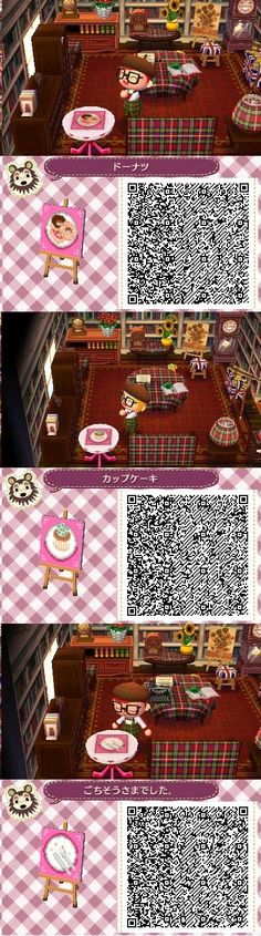 ACNL QR Code: Pastry Designs 2 of 3