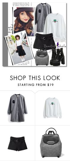 """""""Beautifulhalo 3/IV"""" by sena87 ❤ liked on Polyvore featuring ZAC Zac Posen and WithChic"""
