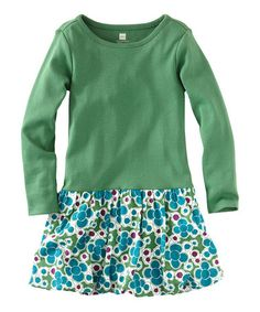 Take a look at this Fairway Mikko Floral Bubble Dress - Infant & Toddler by Tea Collection on #zulily today!