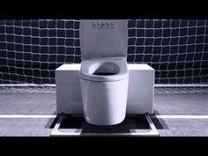 S.G.T.K (Super Great Toilet Keeper) debut! toto toilets vs. soccer