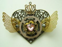 I LOVE this steampunk Eternal Sailor Moon locket!!!