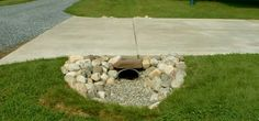 culvert pipe landscaping.....