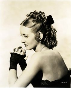 : Bette Davis, Jezebel, 1938,