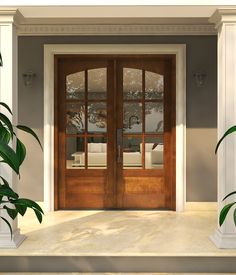 Double Arch 6 Lite IG Glass Mahogany Exterior or Interior Door Colonial Exterior, Double Doors Exterior, Double Entry Doors, Wood Double Front Doors, Wood French Doors Exterior, Front Door Images, Front Door Design, French Doors Bedroom, French Doors Patio