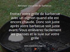 Nettoyer la grille de barbecue
