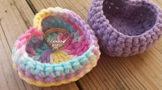 Heart Crocheted Ring Cozy as Wedding Favors