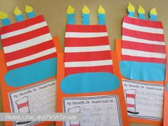 Friday- Read Across America Activities in My Classroom Cute craft idea from Primary Chalkboard
