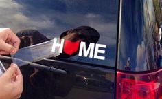 Home Ohio Sticker - Red & White – Be Ohio Proud