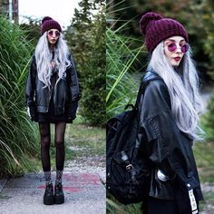 Scene Hair — blackrush: The Cycle Of The Zodiac by Kimiperi . Emo Outfits, Grunge Outfits, Trendy Outfits, Fashion Outfits, Dark Fashion, Grunge Fashion, Estilo Grunge, Trending Haircuts, Winter Hoodies