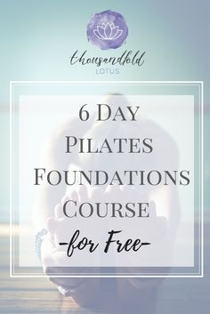 I created this 6 Day Pilates Foundations Course, a value of $65.00, for FREE! Click on this image now and you'll start receiving lessons in you inbox today! Pilates Workout, Post Workout, Workout Videos, Pilates Body, Pilates Reformer Exercises, Fun Workouts, At Home Workouts, Floor Barre, Online Yoga