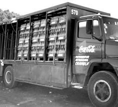 camión repartidor de Coca Cola