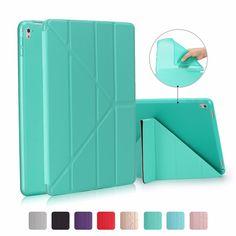 "TODKAI Smart Case For Ipad Pro 10.5"" Magnet Stand PU Leather Multi Shapes Cover Soft TPU Silicone Bottom case Auto Sleep/Wake #Affiliate"