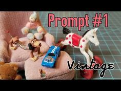 "Please join in with my miniature prompts if you are looking for a way to work on your minis! There is still plenty of time to work on Prompt ""Vintage"". Online Pet Supplies, Dog Supplies, Dollhouse Toys, Dollhouse Miniatures, Firefighter Bedroom, Minis, Dollhouse Tutorials, Toy Store, Dog Accessories"