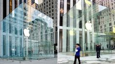 Here's What Apple's New Glass Cube Apple Store Looks Like (OMG SOO DIFFERENT)