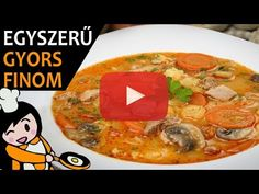 Thai Red Curry, Cake Recipes, Make It Yourself, Dinner, Ethnic Recipes, Food, Youtube, Soups, Meat