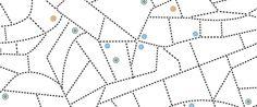 Tracciare le città: studio sull'identità visiva dei centri urbani