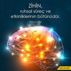 ZİHİN, ruhsal süreç ve etkinliklerinin bütünüdür. #zihin #ruh #süreç #evren #hayat #insan #infoteizm