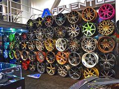 sema 2013 loving our Adventus Wheels forged SFR STR V4 G4 lexani LT LF LS 5 star split spoke