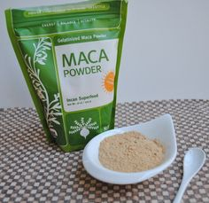 Health benefits of maca powder!  Check it out...easy to add into your diet!
