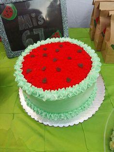 Watermelon's cake🍉