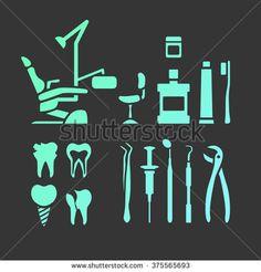 Vector dental care thin line icons. Local Dentist, Dentist Cake, Dental Extraction, Bone Loss, Teeth Care, Ads Creative, Dental Assistant, Oral Health, Dental Care
