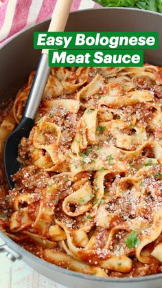 Best Pasta Dishes, Pasta Side Dishes, Best Pasta Recipes, Pasta Sauce Recipes, Beef Recipes, Cooking Recipes, Simple Pasta Recipes, One Pot Recipes, Italian Pasta Dishes