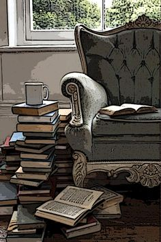 We LIVE for Saturdays! Time for multiple coffees and great books!