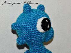 occhio del cavalluccio marino  eyes of the seahorse
