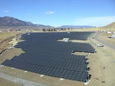 A two-megawatt solar panel array at Fort Carson, Colo., produces enough power for 540 homes, and is one example of the kinds of tools installations can use to achieve Net Zero energy usage.