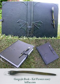 GargyBook by ~myceliae.  This is in leather.