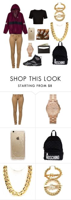 """2/10/16"" by fashionlover-968 on Polyvore featuring Retrò, Victoria's Secret, Monkee Genes, Marc by Marc Jacobs, Rifle Paper Co, Moschino, Fantasy Jewelry Box, RIFLE and Ted Baker"