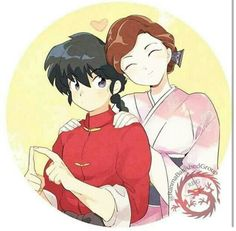 Ranma and his mom