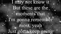 Miley Cyrus The Climb Lyrics, via YouTube.